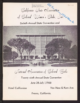 California State Association of Colored Women's Clubs, Inc. sixtieth annual state convention and National Association of Colored Girls twenty ninth annual state convention June 28, 1966 program