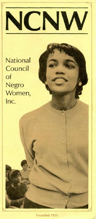 National Council of Negro Women brochure